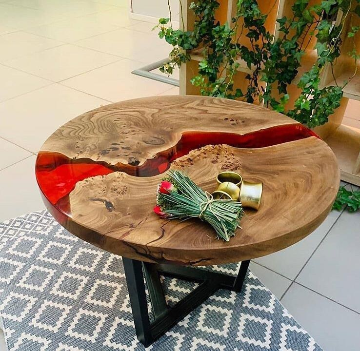 دکوراسیون چوبی , چوب و رزین