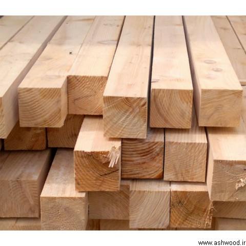 چوب چهار تراش کاج روسی, ابعاد چوب چهار تراش, قیمت چهار تراش