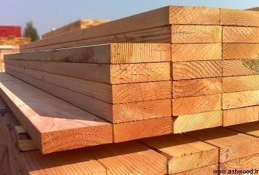 فروش چوب , تیر و تخته روسی , چوب کاج