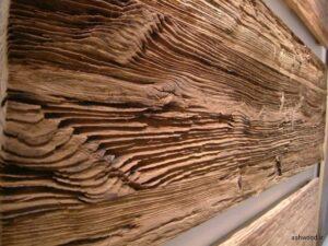 چوب کاج سندبلاست شده