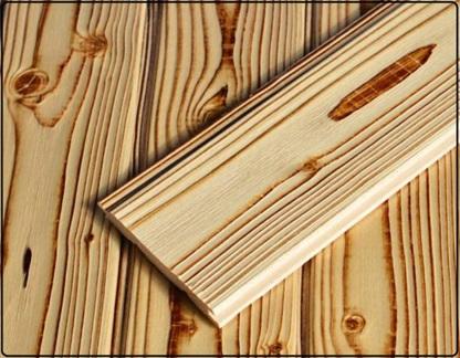 محصول نهایی سندبلاست چوب کاج