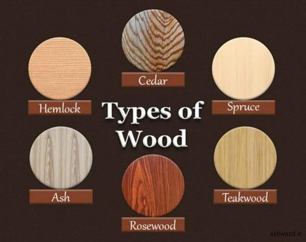شناخت انواع چوب
