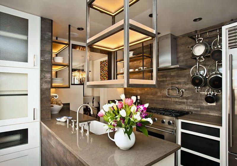 کابینت آشپزخانه قفسه باز