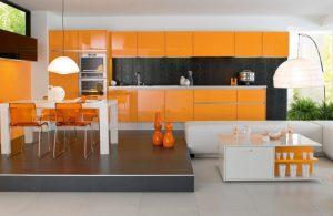 کابینت های فلزی برای دکوراسیون داخلی آشپزخانه