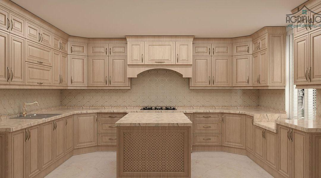 معایب و مزایای استفاده از کابینت چوبی آشپزخانه