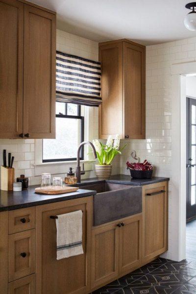کابینت چوبی زیبا برای آشپزخانه
