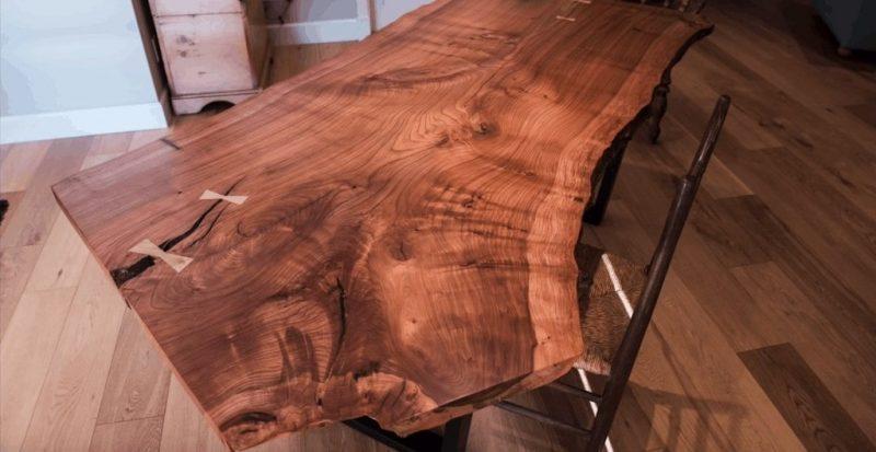 کار با چوب لبه طبیعی