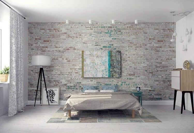 کاشی دیواری اتاق خواب