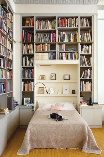 کتابخانه برای اتاق های کوچک