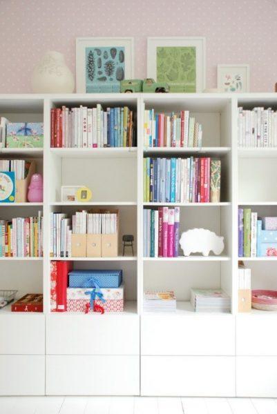 کتابخانه برای دکوراسیون منزل