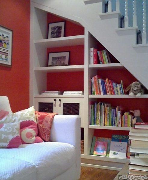 کتابخانه زیر پله ای