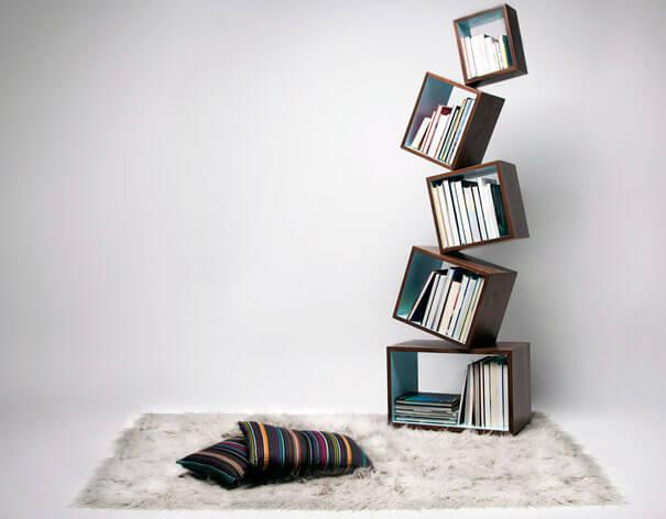 کتابخانه فانتزی برای فضاهای کوچک