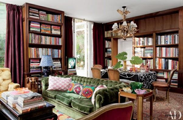 کتابخانه چوبی , کتابخانه خانگی