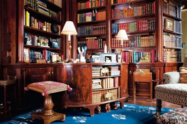 35 ایده کتابخانه خانگی با طرح های زیبا در قفسه کتاب