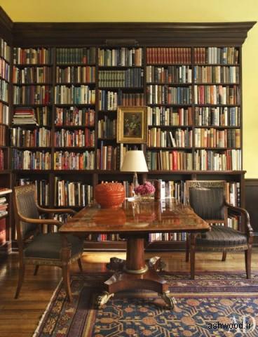 کتابخانه کلاسیک با پیچ و تاب