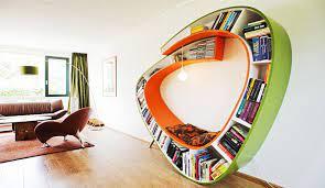 کتابخانه چوبی فانتزی