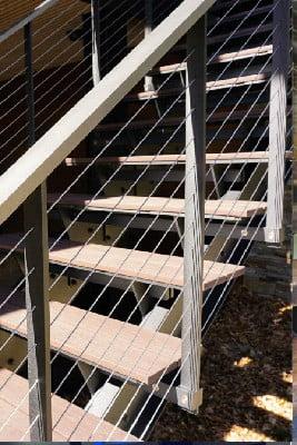 کف پله چوبی , دیزاین پله دوبلکس