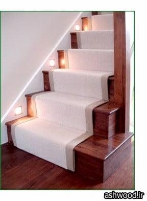 کف پله چوبی , نصب کف پله چوبی, سازنده کف پله چوبی
