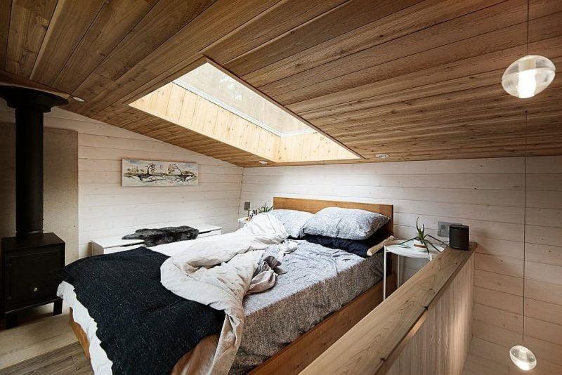 کلبه چوبی کوچک