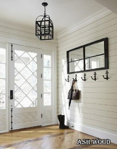 کلبه سفید + چوب .. می توانید عاشق این سبک جالب شوید