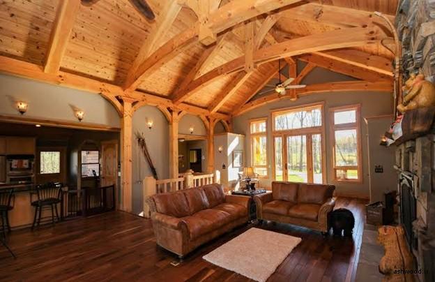 خانه چوبی , کلبه چوبی