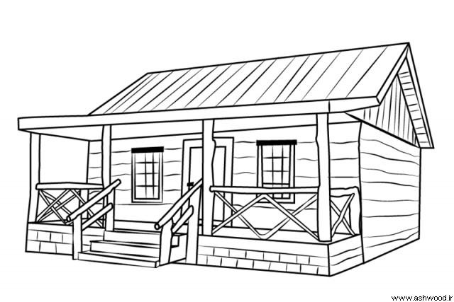 همه چیز درباره کلبه چوبی, معماری کلی کلبه چوبی, مشخصات کلبه چوبی