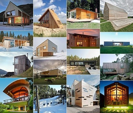 25  ایده طراحی خانه چوبی مدرن برای کمک به شما