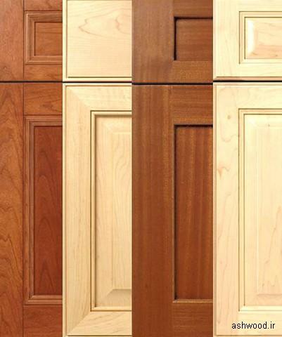ایده و مدل های کابینت چوبی , کمد و میز کنسول تمام چوب در دکوراسیون چوبی منزل