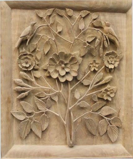 کنده کاری چوب در دوره تیموری