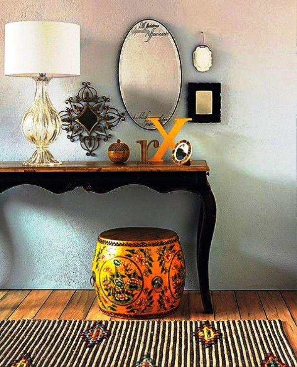 میز کنسول کلاسیک ، میز ، صندلی ، دکوراسیون چوبی مدل سال 2016