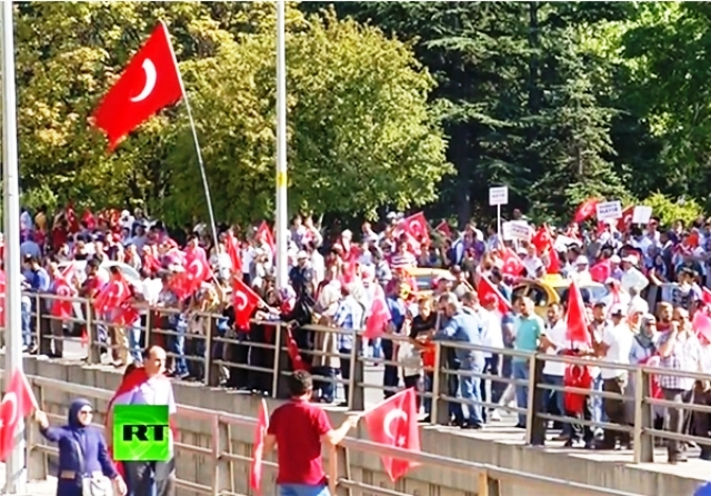 Turkey coup in