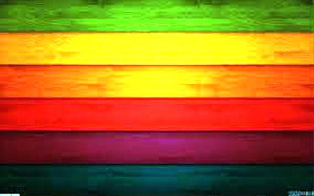 کدهای رنگ در دکوراسیون چوبی منزل