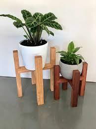 گلدان های چوبی