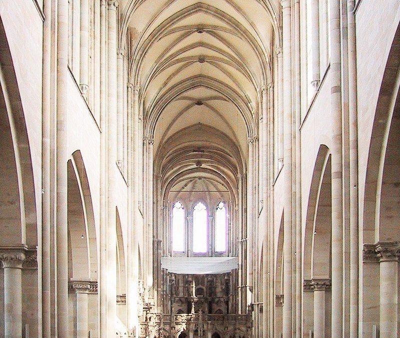 نمونهای از معماری گوتیک درآلمان