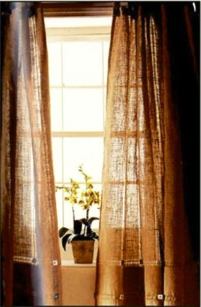 پارچه های گونی بافت در دکوراسیون منزل