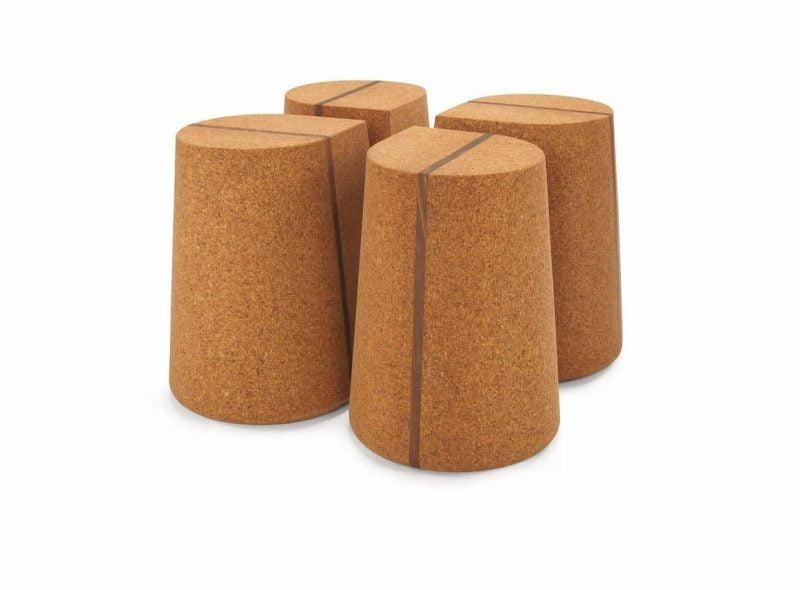 یک طرح چهار قسمتی مانند با نوار چوب گردو