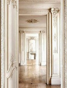 تصویر پانل چوب سفید ( دیوارکوب ) در سبک کلاسیک ، مدرن ایده های بسیار زیبا
