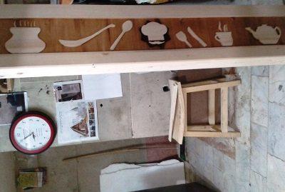 درب چوبی گره چینی ، هنر سنتی ایرانی درب رستوران , در چوبی سنتی