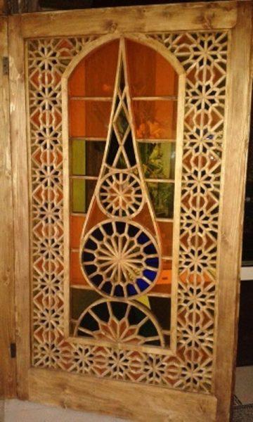 درب سنتی قدیمی دست ساز