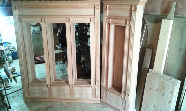 دکوراسیون چوبی کلاسیک