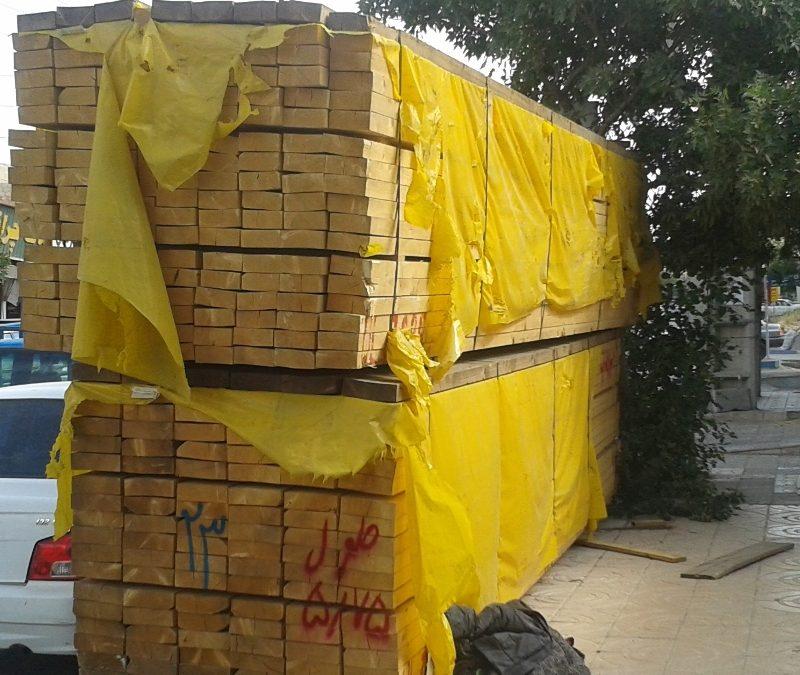 ابعاد انواع چوب چهار تراش
