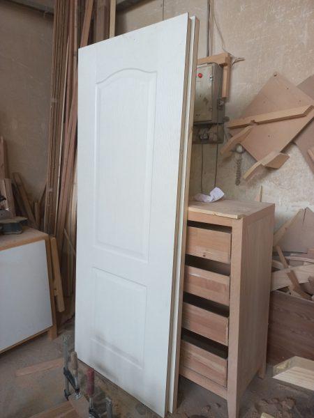 ساخت درب اچ دی اف ۰ درب چوبی hdf