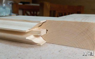 ساخت درب تمام چوب