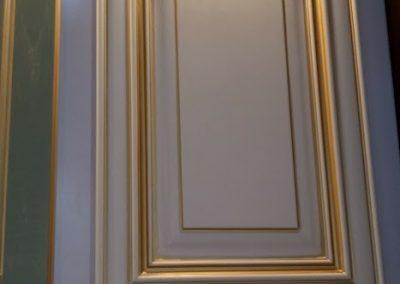 طراحی و ساخت انواع درب کابینت چوبی با رنگ ایتالیایی ، چوب راش المان و بلوط امریکایی ، ساخت کابینت آشپزخانه چوبی