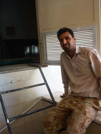 استاد حسن چناری آهنگر پروژه هتل