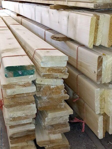 چوب نیمکتی عرض 10 سانت در ضخامت های مختلف