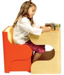 میز و صندلی استاندارد برای مطالعه