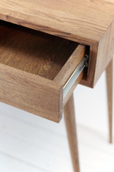میز کنسول چوب بلوط