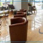 دکوراسیون چوبی لابی هتل
