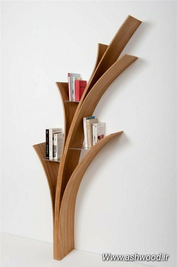 شلف و قفسه چوبی